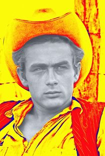 James Dean in Giant by Art Cinema Gallery