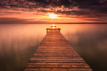 Sunset & Pier by Zoltan Duray