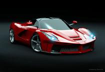 La Ferrari supercar restyled by Nikola Novak