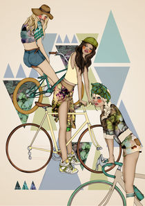 Biker girls by annabours