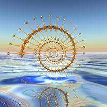 Goldene Spirale by Frank Siegling