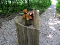Auf der Bank am Liebesweg by Olga Sander