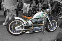 Harley Davidson custom  by Christopher Kelly