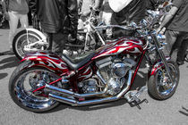 Harley custom Motorcycle by Christopher Kelly