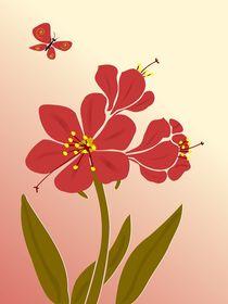 Amaryllis Flowers von Anastasiya Malakhova