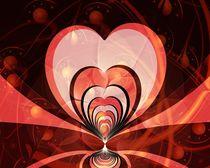Cherries and Hearts von Anastasiya Malakhova