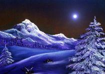 Cold Night by Anastasiya Malakhova