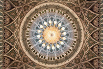 Sultan Qaboos Grand Mosque Ceiling by Norbert Probst