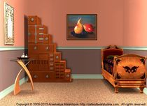 Interior Design Idea - Two Pears by Anastasiya Malakhova
