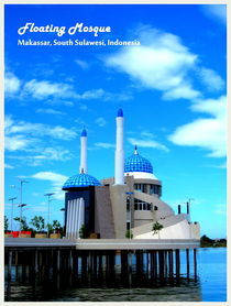 Amirul Mukminin Floating Mosque by Shella Hudaya