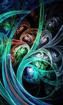 Night Phoenix von Anastasiya Malakhova