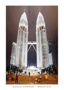 Kuala Lumpur ° Malaysia von Wonderful World  p!ctured