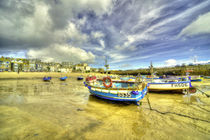 Boats at St Ives  by Rob Hawkins