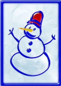 Snowman by Anastasiya Malakhova