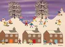 A perfect winters day von Gordon Barker