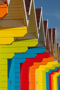 Scarborough Beach Huts 1 by Martin Williams