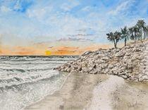 Anna Maria Island Beach von Derek McCrea