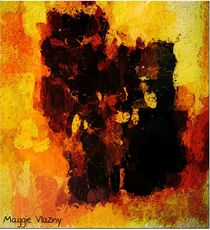 Autumn Abstract by Maggie Vlazny