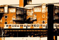 Hamburg Baumwall Bahnstation von fraenks
