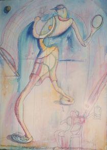 Tennis Player von John Powell