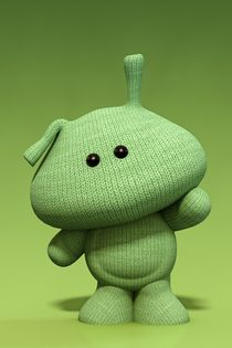 Little Green Man by Liam Liberty