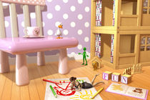 A Child's Playroom - Where The Toys Live von Liam Liberty