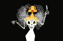 Halloween Lady von Nina Mierowska