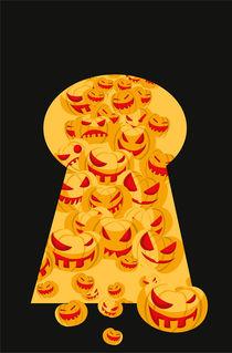 Halloween Pumpkins von Nina Mierowska