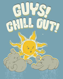 Chill out guys! by Mikael Biström
