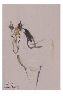 Horse 01 von Elena Tsaregradskaya