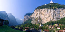 Staubbach Falls, Lauterbrunnen Valley, Switzerland von Tom Dempsey
