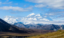 Mount McKinley, Denali National Park, Alaska by Tom Dempsey
