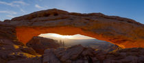 Mesa Arch sunrise, Canyonlands NP, Utah by Tom Dempsey
