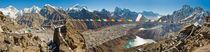 Himalaya panorama: Mt Everest, Gokyo Ri, Nepal von Tom Dempsey