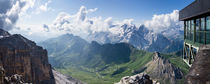 Marmolada, Bindelweg, Pordoi Pass, Dolomites by Tom Dempsey
