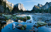 El Capitan, Merced River, Yosemite National Park, California by Tom Dempsey