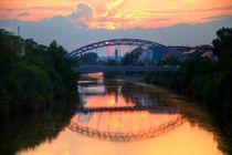 'Luitpoldbrücke  Bamberg' von Bamberg Photoart