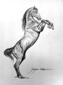 The Horse by Gerd-Uwe Geiger