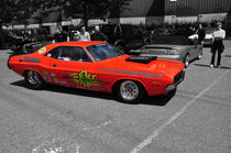 Dodge Challenger Dragster Colorkey by Mark Gassner