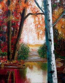 Autumn Pond by Bob Lamb