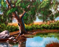 Summer Pond by Bob Lamb