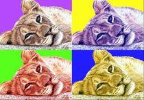 Lionchild-popart