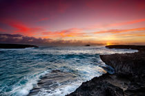 Laie Point Sunrise by Sean Davey
