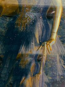 Blue dress von Gabi Hampe