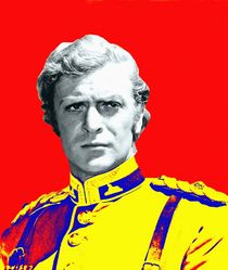 Michael Caine in Zulu by Art Cinema Gallery