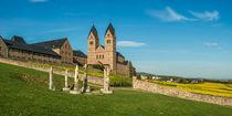 Abtei St. Hildegard (2:1) by Erhard Hess