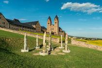 Hildegards Visionen vor Abtei St. Hildegard 5 by Erhard Hess
