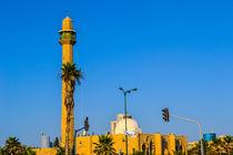 Ancient mosque minaret  by slavamalai