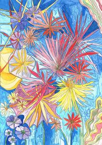 Eisblumen von Claudia Juliette Dittrich
