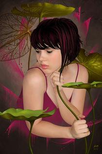Pink Water Flower von Benjamin FRIESS